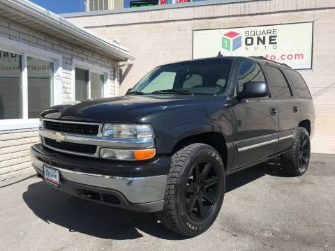2006 Chevrolet Tahoe for sale at SQUARE ONE AUTO LLC in Murray UT