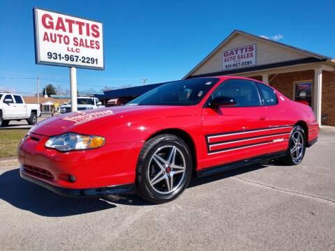 2004 Chevrolet Monte Carlo for sale at Gattis Auto Sales LLC in Winchester TN