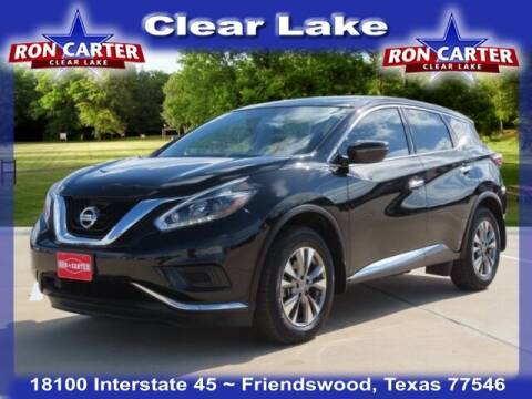 2018 Nissan Murano for sale at Ron Carter  Clear Lake Used Cars in Houston TX