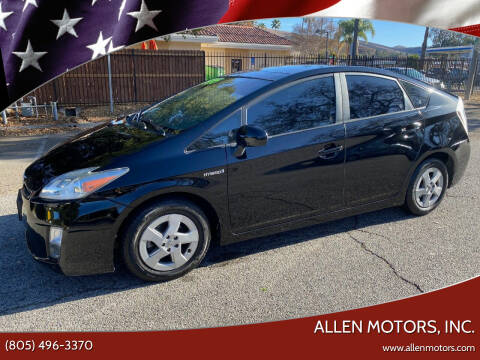 2011 Toyota Prius for sale at Allen Motors, Inc. in Thousand Oaks CA