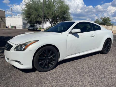 2011 Infiniti G37 Coupe for sale at Tucson Auto Sales in Tucson AZ