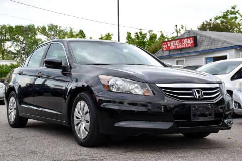 2012 Honda Accord for sale at Wheel Deal Auto Sales LLC in Norfolk VA