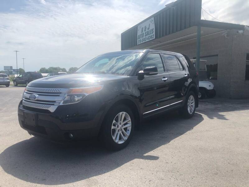 2012 Ford Explorer for sale at B & J Auto Sales in Auburn KY