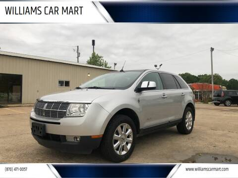 2009 Lincoln MKX for sale at WILLIAMS CAR MART in Gassville AR