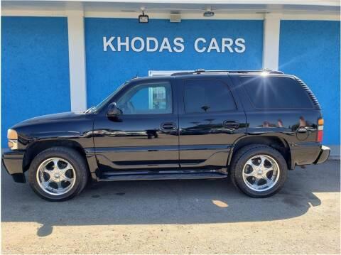 2005 GMC Yukon for sale at Khodas Cars in Gilroy CA