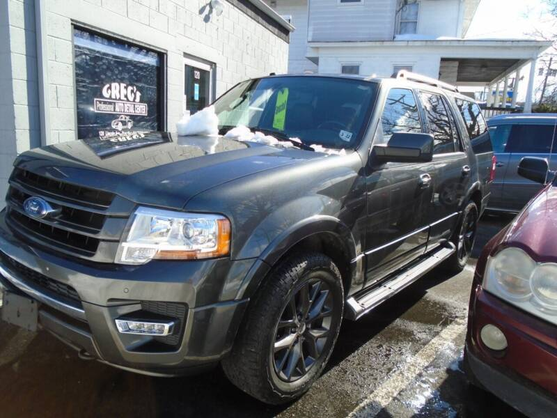 2017 Ford Expedition for sale at Greg's Auto Sales in Dunellen NJ