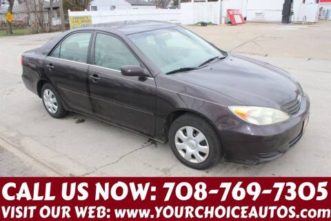 2003 Toyota Camry for sale at Your Choice Autos in Posen IL