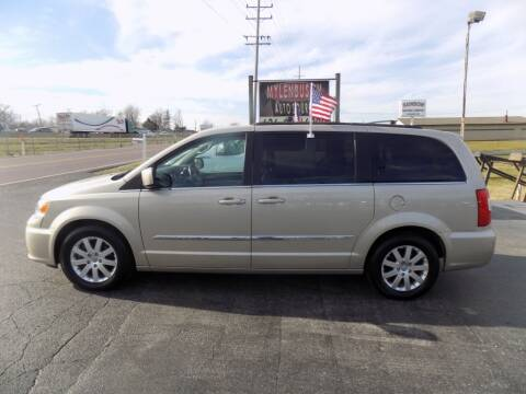2014 Chrysler Town and Country for sale at MYLENBUSCH AUTO SOURCE in O` Fallon MO