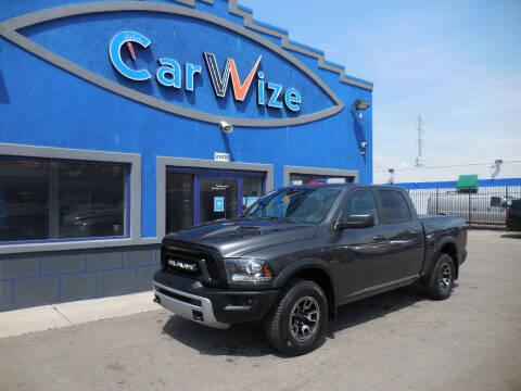 2016 RAM Ram Pickup 1500 for sale at Carwize in Detroit MI