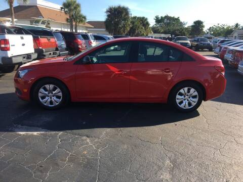 2014 Chevrolet Cruze for sale at CAR-RIGHT AUTO SALES INC in Naples FL