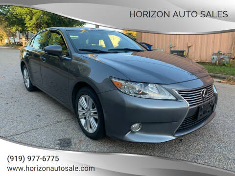 2014 Lexus ES 350 for sale at Horizon Auto Sales in Raleigh NC