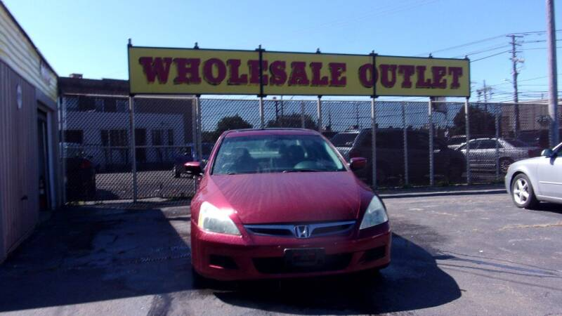 2006 Honda Accord for sale at LONG BROTHERS CAR COMPANY in Cleveland OH
