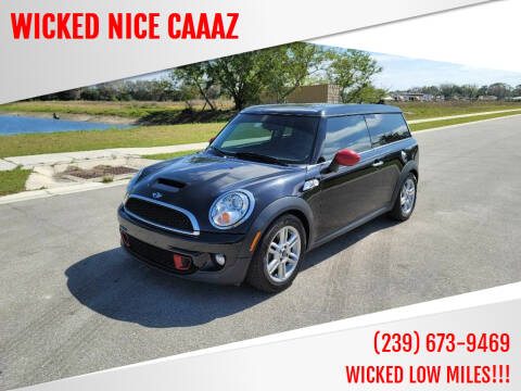 2011 MINI Cooper Clubman for sale at WICKED NICE CAAAZ in Cape Coral FL