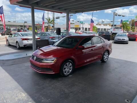 2017 Volkswagen Jetta for sale at American Auto Sales in Hialeah FL
