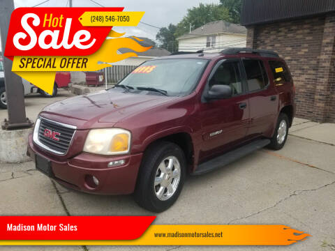 2005 GMC Envoy XL for sale at Madison Motor Sales in Madison Heights MI