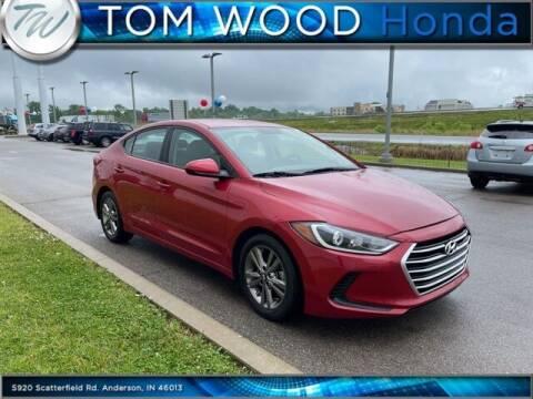 2017 Hyundai Elantra for sale at Tom Wood Honda in Anderson IN