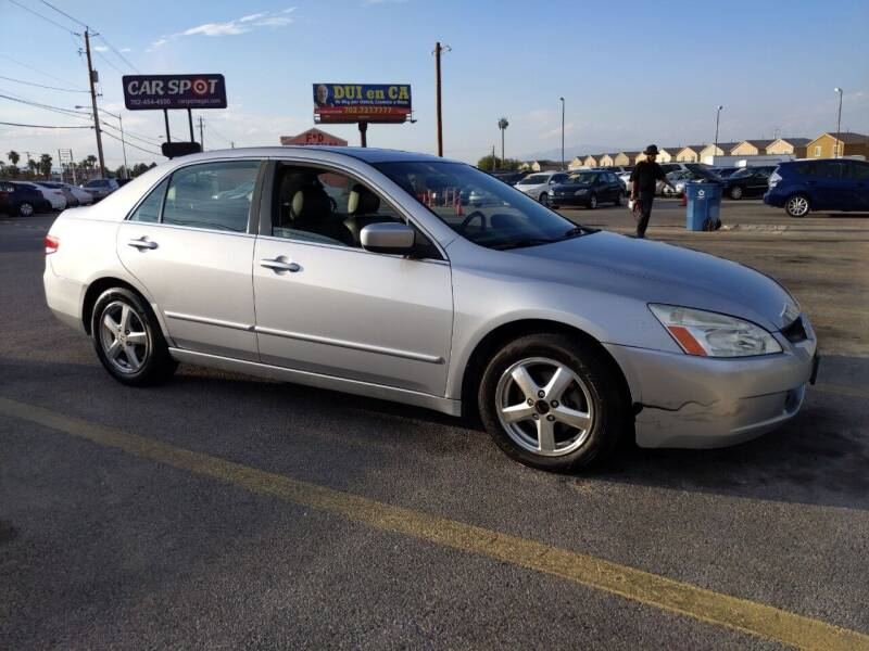 2004 Honda Accord for sale at Car Spot in Las Vegas NV
