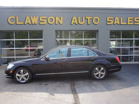 2011 Mercedes-Benz S-Class for sale at Clawson Auto Sales in Clawson MI