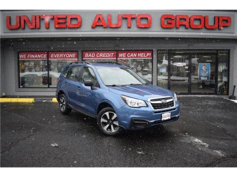 2018 Subaru Forester for sale at United Auto Group in Putnam CT