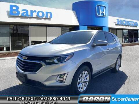 2018 Chevrolet Equinox for sale at Baron Super Center in Patchogue NY