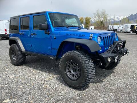 2016 Jeep Wrangler Unlimited for sale at Shamrock Group LLC #1 in Pleasant Grove UT