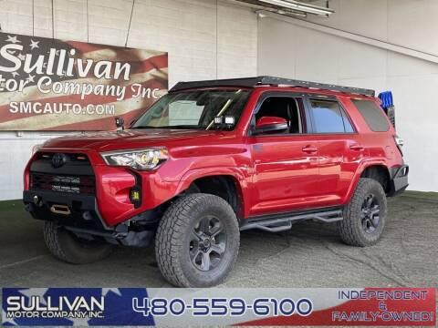 2018 Toyota 4Runner for sale at SULLIVAN MOTOR COMPANY INC. in Mesa AZ