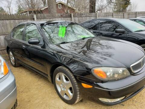 2001 Infiniti I30 for sale at Northwoods Auto & Truck Sales in Machesney Park IL