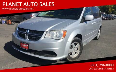 2012 Dodge Grand Caravan for sale at PLANET AUTO SALES in Lindon UT