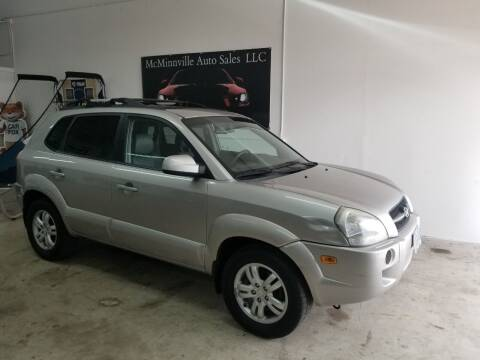 2006 Hyundai Tucson for sale at McMinnville Auto Sales LLC in Mcminnville OR