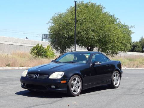 2004 Mercedes-Benz SLK for sale at Crow`s Auto Sales in San Jose CA