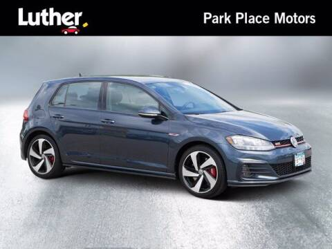 2020 Volkswagen Golf GTI for sale at Park Place Motor Cars in Rochester MN