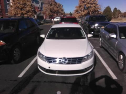 2013 Volkswagen CC for sale at Rods Cars Inc. in Denver CO