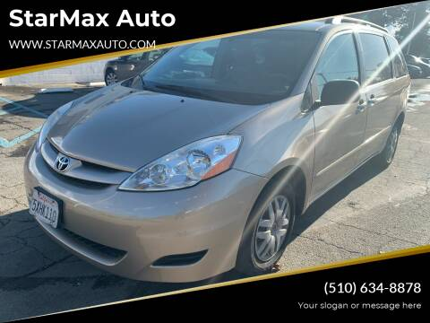 2006 Toyota Sienna for sale at StarMax Auto in Fremont CA