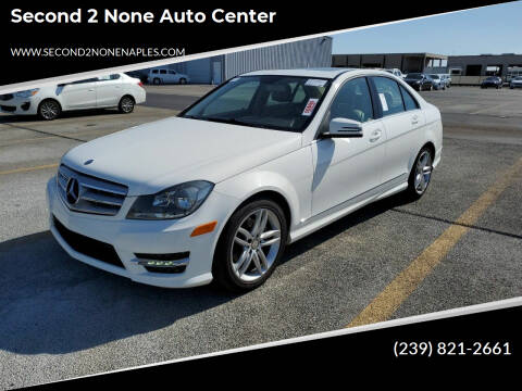 2013 Mercedes-Benz C-Class for sale at Second 2 None Auto Center in Naples FL