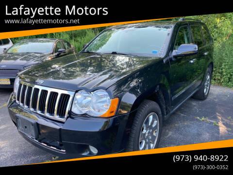 2010 Jeep Grand Cherokee for sale at Lafayette Motors in Lafayette NJ
