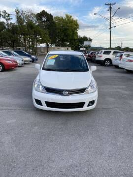 2012 Nissan Versa for sale at Elite Motors in Knoxville TN