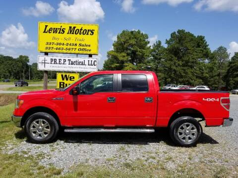2013 Ford F-150 for sale at Lewis Motors LLC in Deridder LA