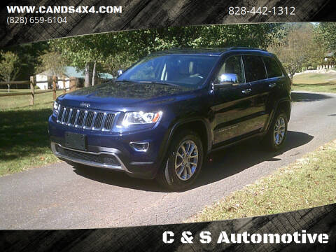 2014 Jeep Grand Cherokee for sale at C & S Automotive in Nebo NC
