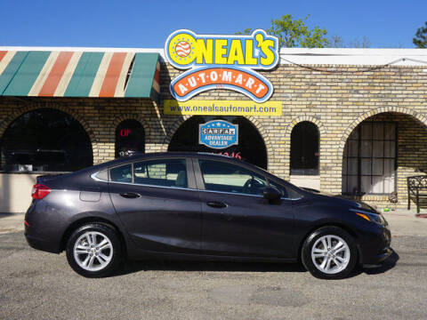 2017 Chevrolet Cruze for sale at Oneal's Automart LLC in Slidell LA