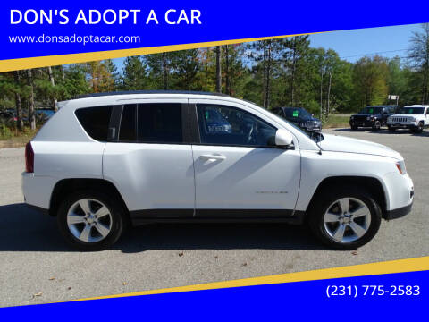 2015 Jeep Compass for sale at DON'S ADOPT A CAR in Cadillac MI