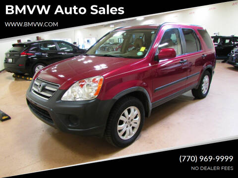 2006 Honda CR-V for sale at BMVW Auto Sales - Plug-In Hybrids in Union City GA