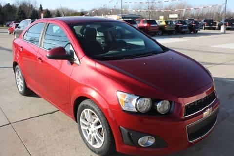 2012 Chevrolet Sonic for sale at Sandusky Auto Sales in Sandusky MI