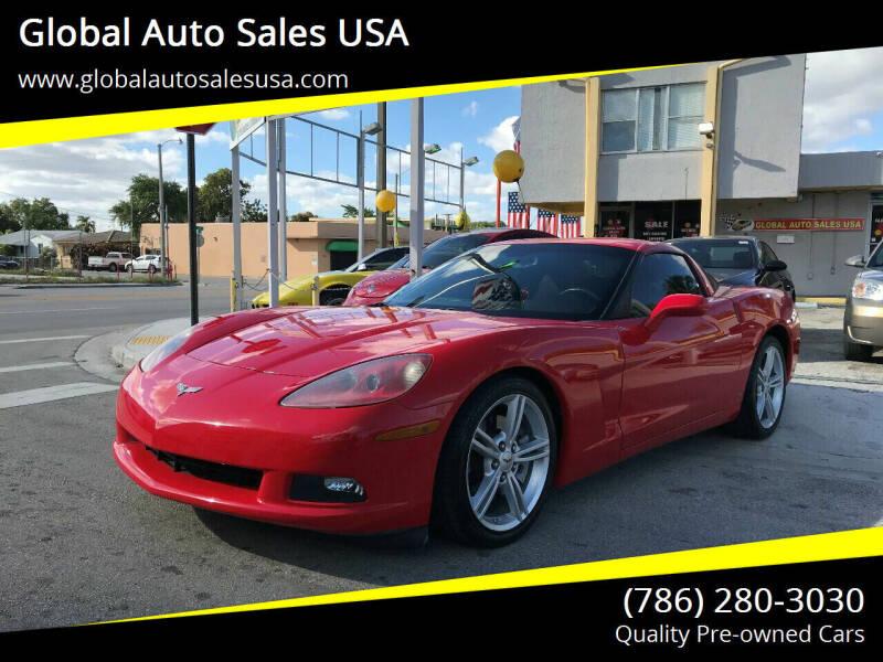 2010 Chevrolet Corvette for sale at Global Auto Sales USA in Miami FL