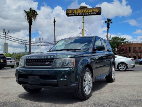 2011 Land Rover Range Rover Sport for sale at A MOTORS SALES AND FINANCE in San Antonio TX