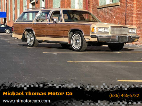 1989 Mercury Grand Marquis for sale at Michael Thomas Motor Co in Saint Charles MO