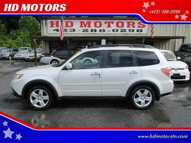 2009 Subaru Forester for sale at HD MOTORS in Kingsport TN
