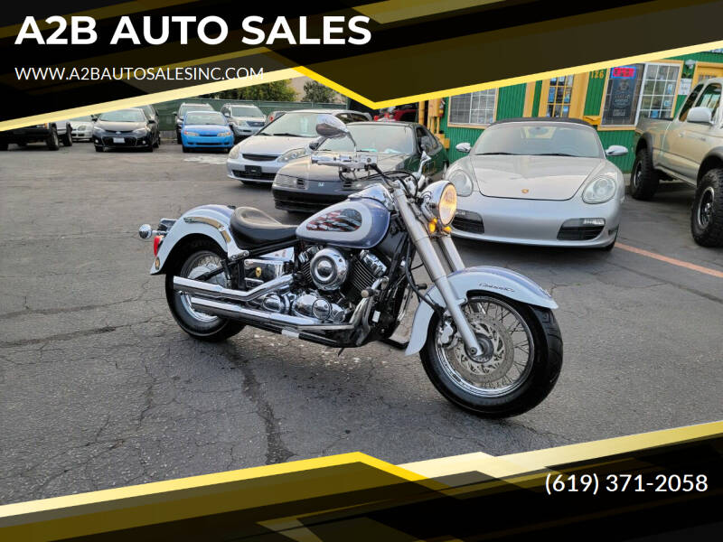 2002 Yamaha V STAR 1100 for sale at A2B AUTO SALES in Chula Vista CA