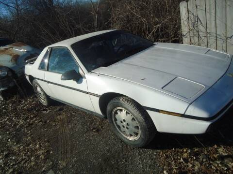 1984 Pontiac Fiero for sale at Marshall Motors Classics in Jackson Michigan MI