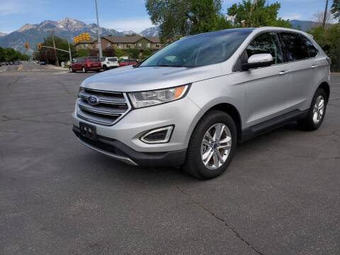 2016 Ford Edge for sale at UTAH AUTO EXCHANGE INC in Midvale UT