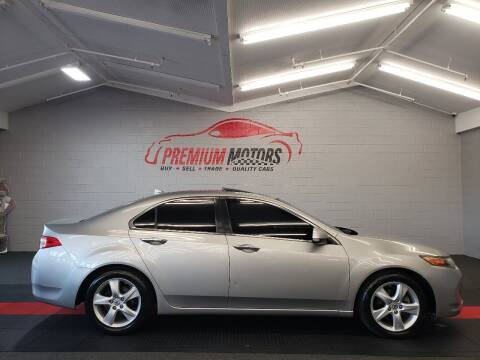 2010 Acura TSX for sale at Premium Motors in Villa Park IL